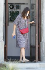 MANDY MOORE Out and Abour in Los Angeles 09/19/2020