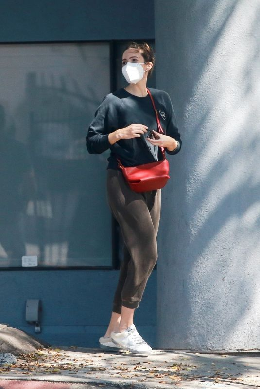 MANDY MOORE Out and About in Los Angeles 09/22/2020