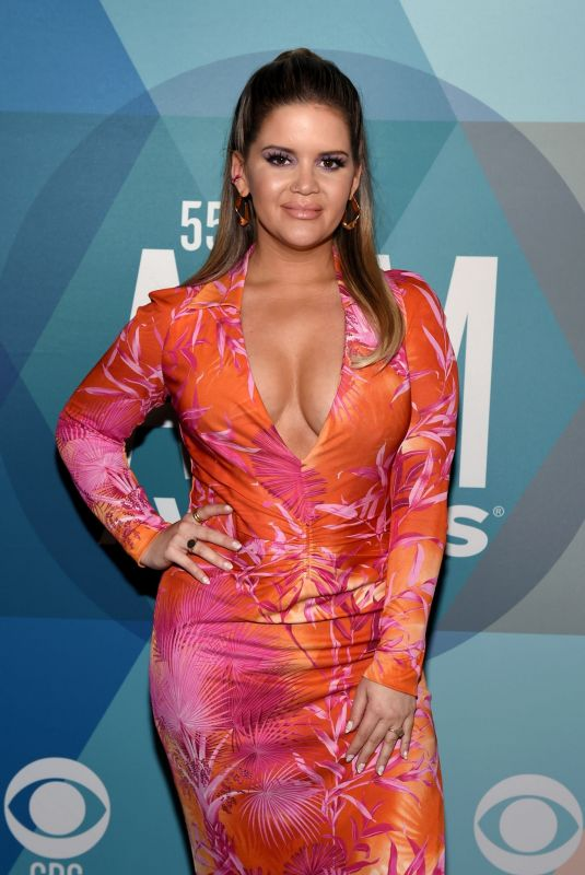 MAREN MORRIS at 55th Academy of Country Music Awards in Nashville 09/16/2020