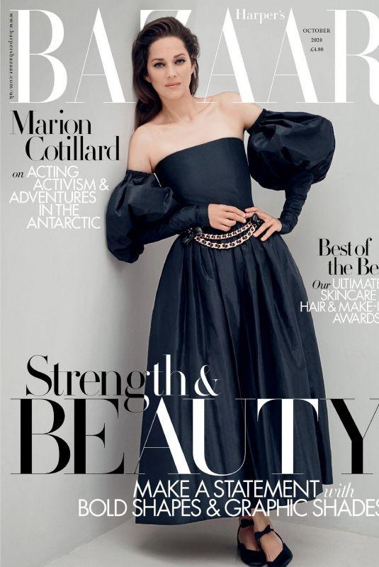 MARION COTILLARD in Harper's Bazaar Magazine, UK October 2020