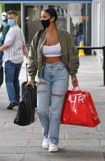 MAYA JAMA Out Shopping in London 09/07/2020