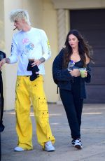 MEGAN FOX and Machine Gun Kelly Out in Los Angeles 09/20/2020