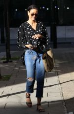 MELANIE SYKES Leave BBC Studios in London 09/05/2020