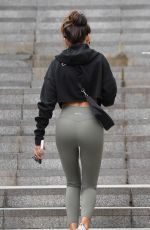 MICHELLE KEEGAN Arrives at a Gym in Manchester 09/04/2020
