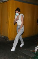 MILLIE BOBBY BROWN Out for Dinner in West Hollywood 09/17/2020