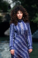 MINA EL HAMMANI Arrives at Hotel Excelsior in Venice 09/11/2020
