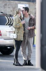 MISCHA BARTON and Gian Marco Flamini Out for Dinner in Pasadena 09/22/2020