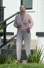 MISCHA BARTON Outside Her Home in Los Angeles 09/19/2020