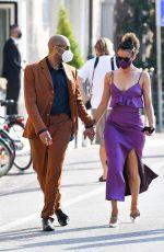 NATHALIE EMMANUEL and Alex Lanipekun Out in Venice 09/06/2020