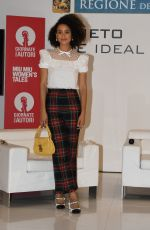NATHALIE EMMANUEL at a Press Conference at 2020 Venice Intenrantional Film Festival 09/07/2020