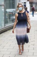 NICOLA MCLEAN Leaves Jeremy Vine on 5 Show in London 09/08/2020