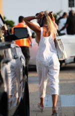 NICOLETTE SHERIDAN Arrives at Nobu in Malibu 09/06/2020