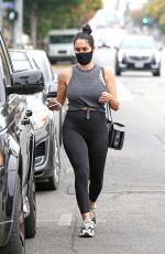 NIKKI BELLA at a Gas Station in Los Angeles 09/10/2020