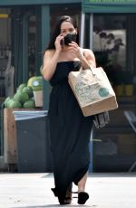 NIKKI BELLA Out Shopping at Whole Foods in Studio City 09/14/2020
