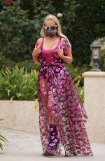 NIKKI LUND Out and About in Beverly Hills 09/17/2020