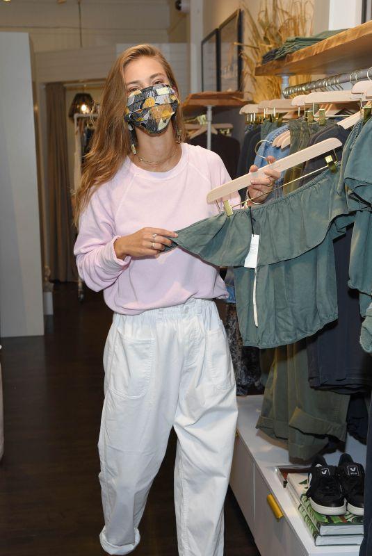 NINA AGDAL Shopping at Unsubscribed in New York 09/03/2020