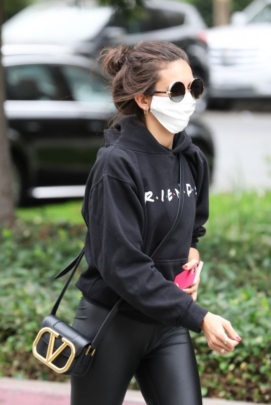 NINA DOBREV Out and About in Los Angeles 09/08/2020