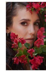 NINA DOBREV Promotes Dior Makeup 07/24/2020
