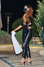 OLIVIA CULPO Out for Dinner at Nobu in Malibu 09/16/2020