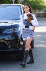 OLIVIA CULPO Out with Her Dog in Hollywood 09/25/2020
