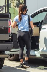 OLIVIA MUNN Leaves a Gym in Los Angeles 09/02/2020
