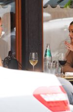 OLIVIA PALERMO and NICKY HILTON Out for Lunch in New York 09/16/2020