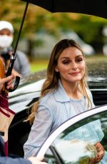 OLIVIA PALERMO Arrives at Sportmax Show at Milan Women
