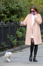 OLIVIA PALERMO Out with Mr Butler in New York 09/16/2020
