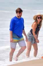 OLIVIA WILDE and Jason Sudeikis on the Beach in Malibu 09/16/2020