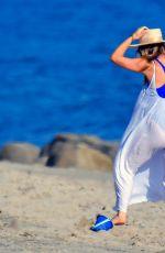 OLIVIA WILDE Out on the Beach in Malibu 09/06/2020