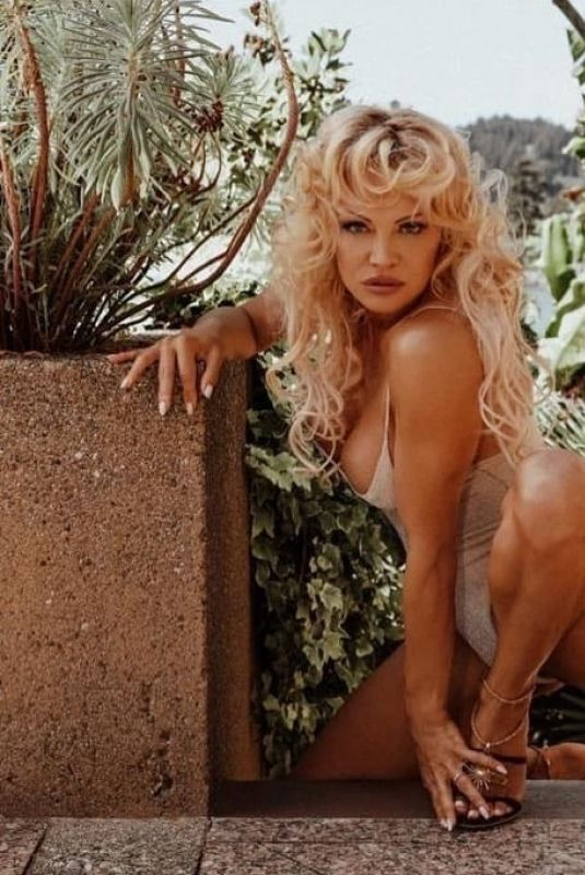 PAMELA ANDERSON at a Photoshoot 2020