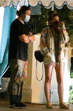 PARIS JACKSON Leaves San Vicente Bungalow in West Hollywood 09/04/2020
