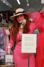 PHOEBE PRICE Out Shopping on Melrose in Los Angeles 09/12/2020