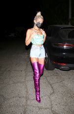 PIA MIA PEREZ at a Party in Hollywood 09/24/2020