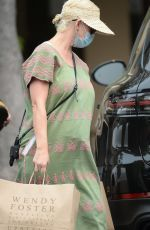 Pregnant KATY PERY Out Shopping in Santa Barbara 09/13/2020