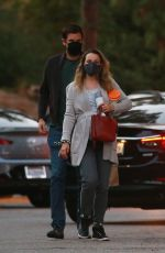 Pregnant RACHEL MCADAMS at a Park in Los Angeles 09/23/2020