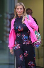 RACHEL RILEY Leaves Media City in Salford 09/29/2020