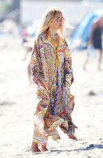 RACHEL ZOE Out on Her Birthday at a Beach in Los Angeles 09/01/2020