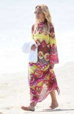 RACHEL ZOE Out Walking at a Beach in Santa Barbara 08/31/2020