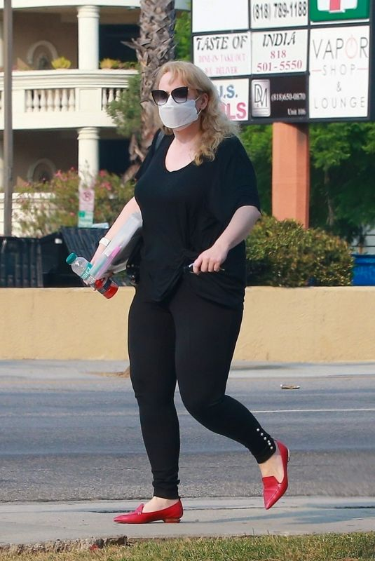 REBEL WILSON Out in Los Angeles 09/15/2020