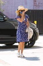 REESE WITHERSPOON Arrives at Spa in Brentwood  09/02/2020