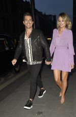 RHIAN SUGDEN Night Out in Manchester 09/11/2020