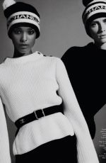 RIANNE VON ROMPAEY and MALIKA LOUBACK in Vogue Magazine, France October 2020