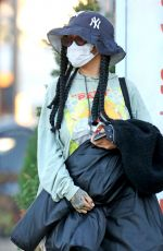 RIHANNA Out and About in Los Angeles 09/22/2020