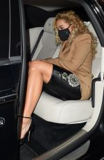 RITA ORA Night Out in London 09/18/2020