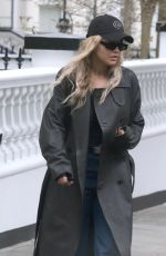 RITA ORA Out and About in London 09/30/2020