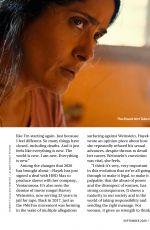 SALMA HAYEK in Readers Digest Magazine, UK September 2020