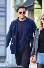 SAOIRSE RONAN and Jack Lowden Out in London 09/06/2020