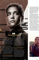 SCARLETT JOHANSSON and FLORENCE PUGH in Total Film Magazine, October 2020