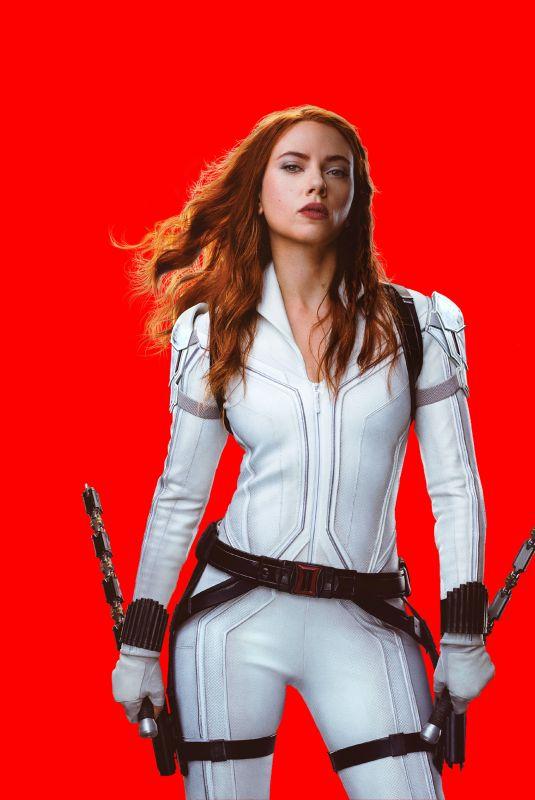 SCARLETT JOHANSSON – Black Widow, 2021 Promos